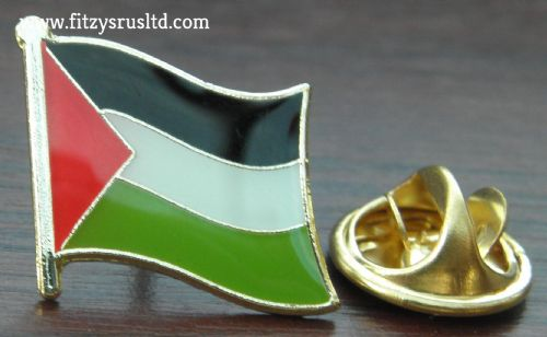 Palestine Palestinian Country Flag - Lapel - Hat - Cap - Tie Pin Badge New